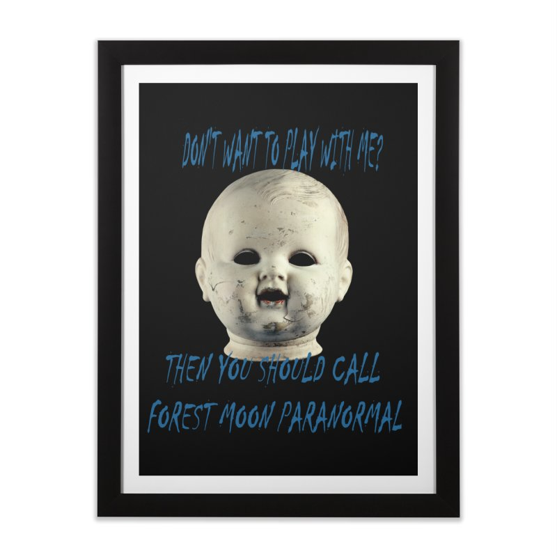 Play with Me Home Framed Fine Art Print by forestmoonparanormal's Artist Shop
