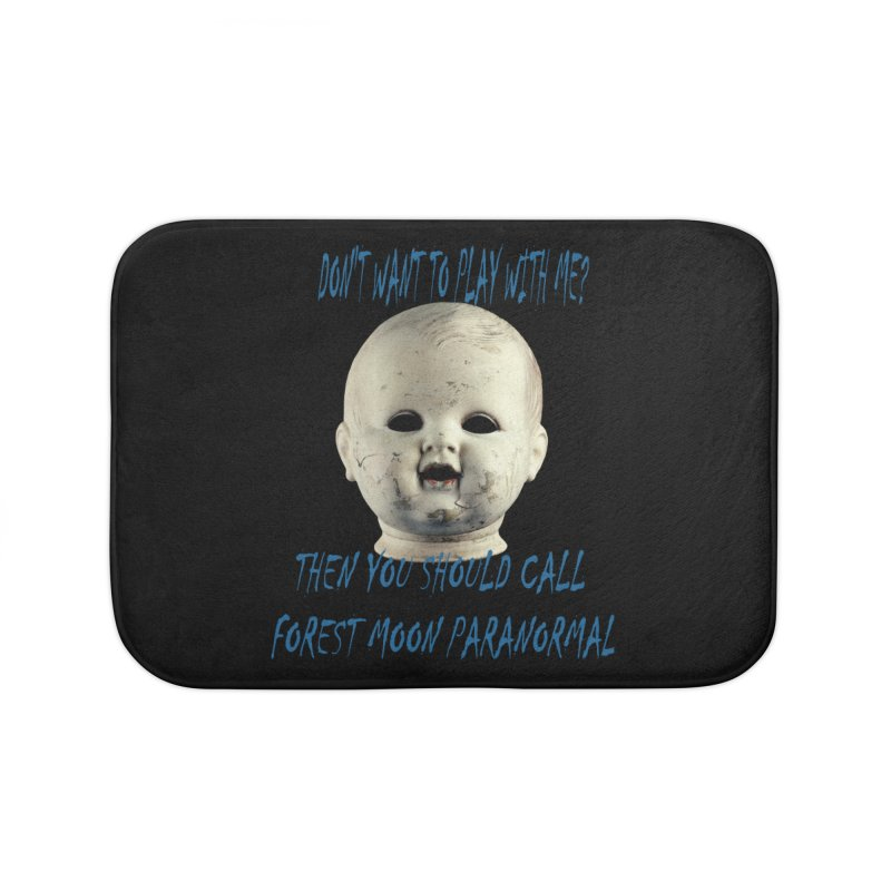 Play with Me Home Bath Mat by forestmoonparanormal's Artist Shop