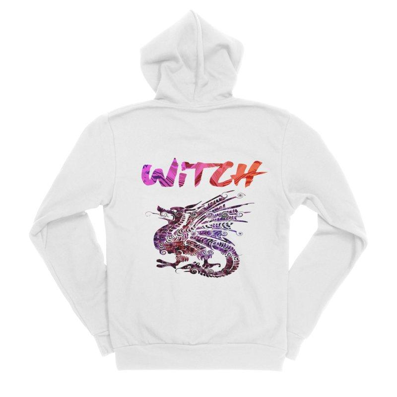 Witch Women's Sponge Fleece Zip-Up Hoody by forestmoonparanormal's Artist Shop