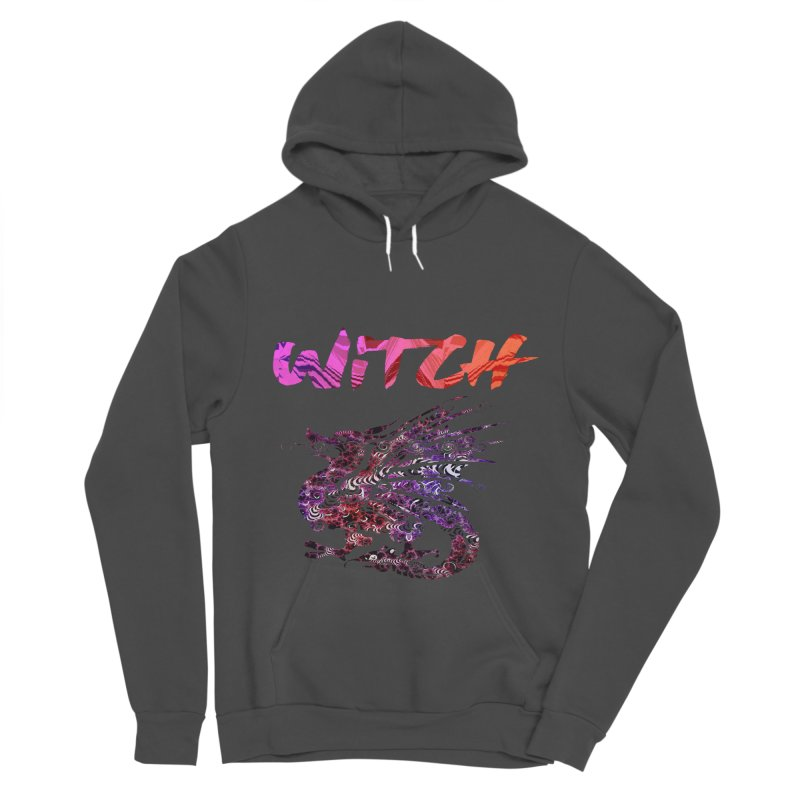 Witch Women's Sponge Fleece Pullover Hoody by forestmoonparanormal's Artist Shop
