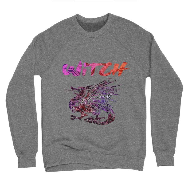 Witch Men's Sponge Fleece Sweatshirt by forestmoonparanormal's Artist Shop