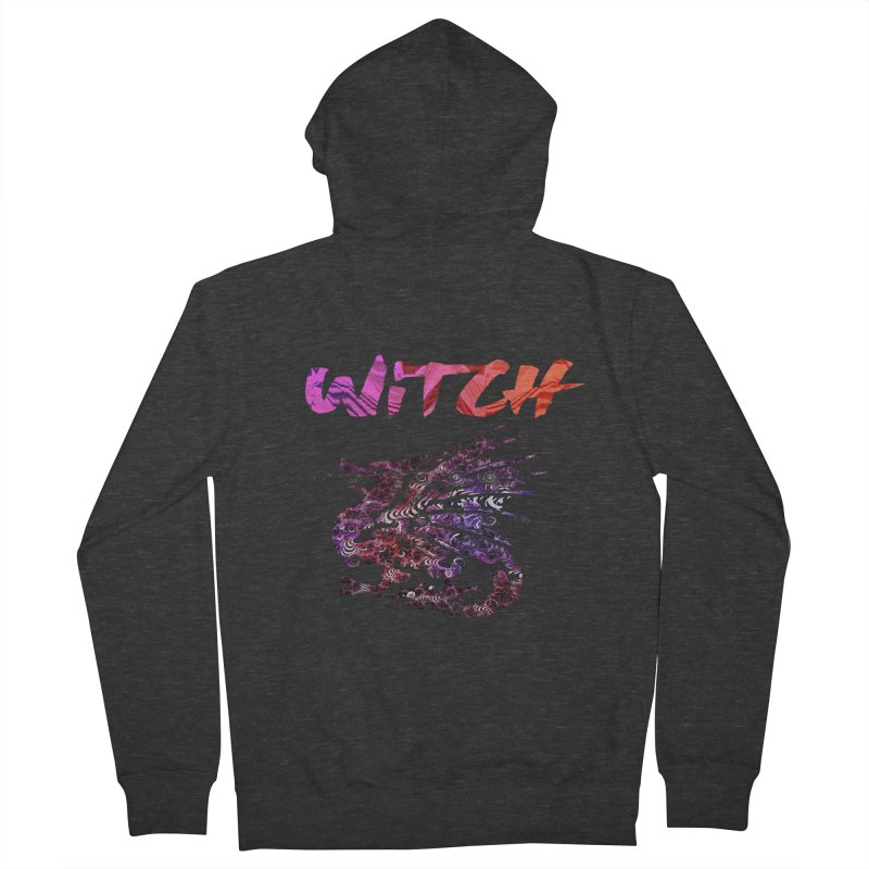 Witch Women's French Terry Zip-Up Hoody by forestmoonparanormal's Artist Shop