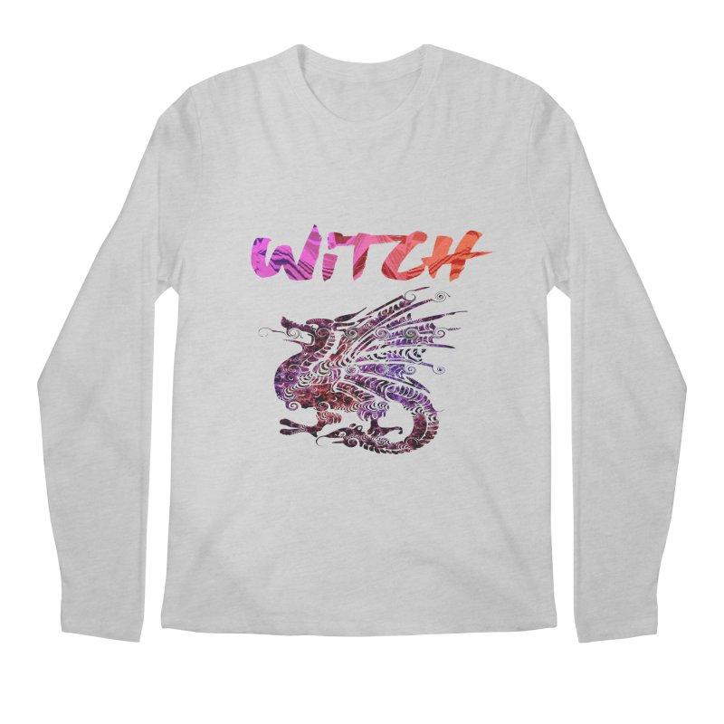 Witch Men's Regular Longsleeve T-Shirt by forestmoonparanormal's Artist Shop