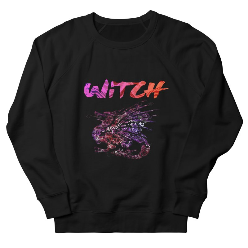 Witch Women's French Terry Sweatshirt by forestmoonparanormal's Artist Shop