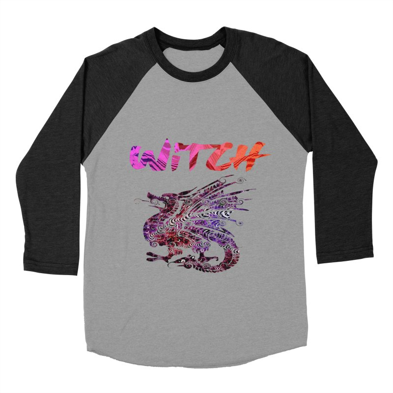 Witch Men's Baseball Triblend Longsleeve T-Shirt by forestmoonparanormal's Artist Shop