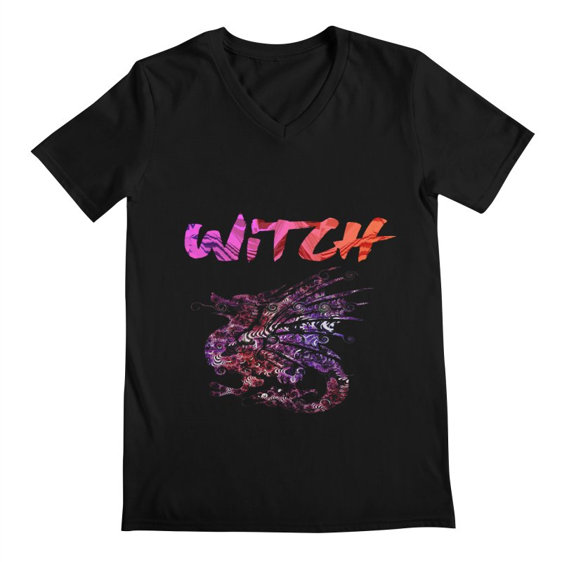 Witch Men's Regular V-Neck by forestmoonparanormal's Artist Shop