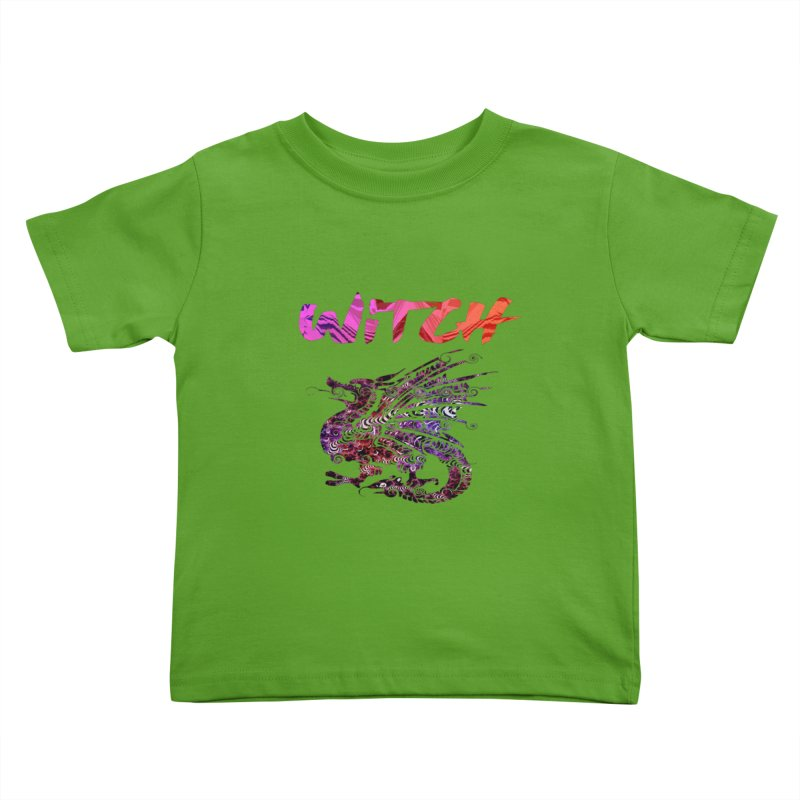 Witch Kids Toddler T-Shirt by forestmoonparanormal's Artist Shop