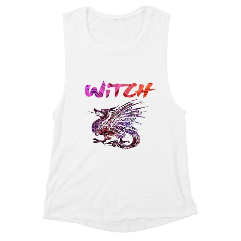 Witch Women's Muscle Tank by forestmoonparanormal's Artist Shop