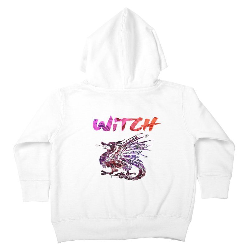 Witch Kids Toddler Zip-Up Hoody by forestmoonparanormal's Artist Shop