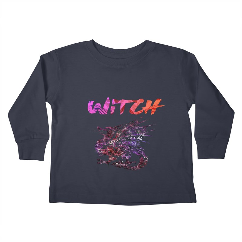 Witch Kids Toddler Longsleeve T-Shirt by forestmoonparanormal's Artist Shop