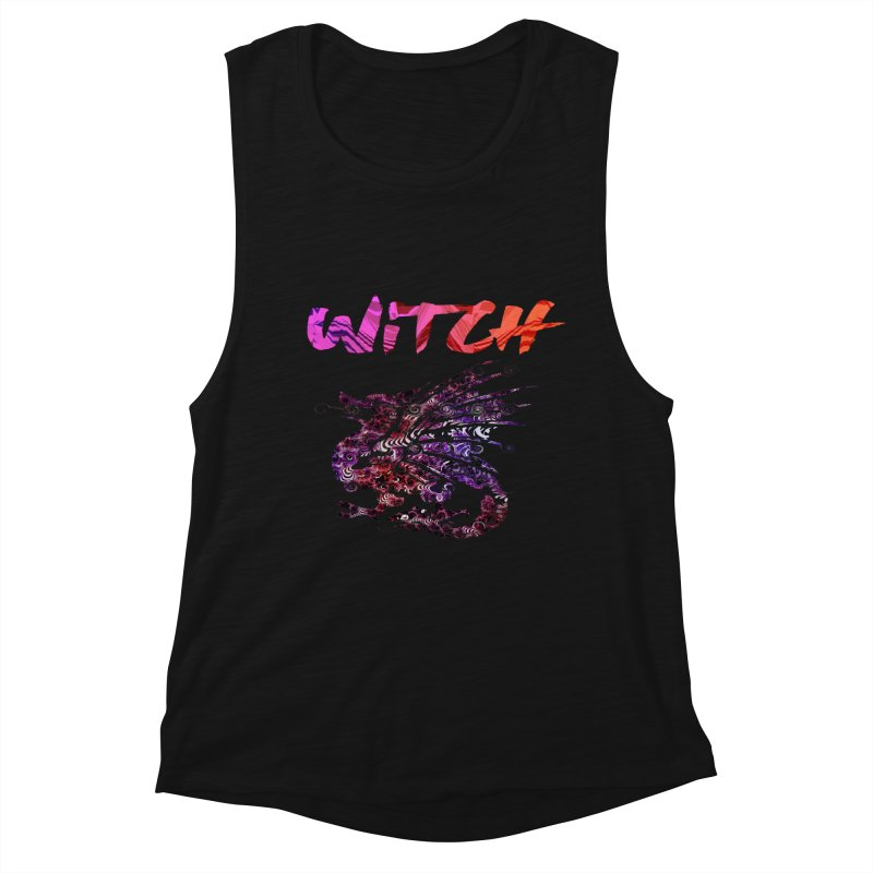 Witch Women's Tank by forestmoonparanormal's Artist Shop