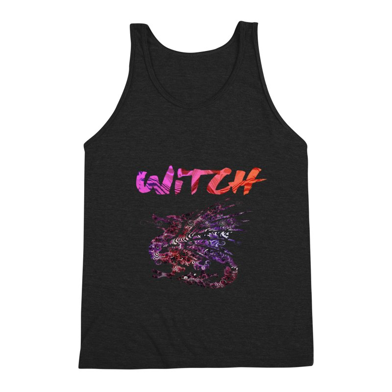 Witch Men's Triblend Tank by forestmoonparanormal's Artist Shop