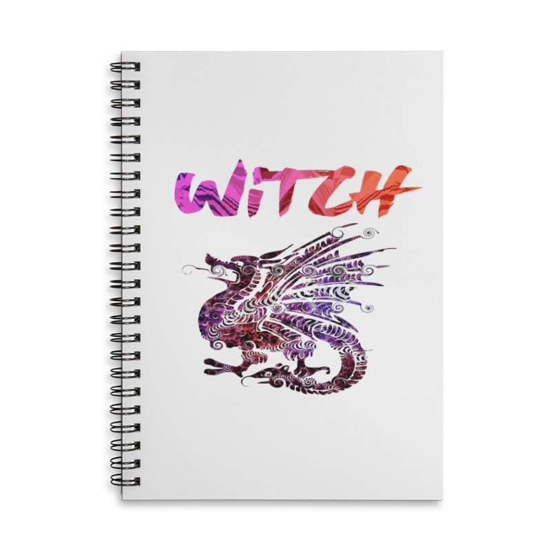 Witch Accessories Lined Spiral Notebook by forestmoonparanormal's Artist Shop