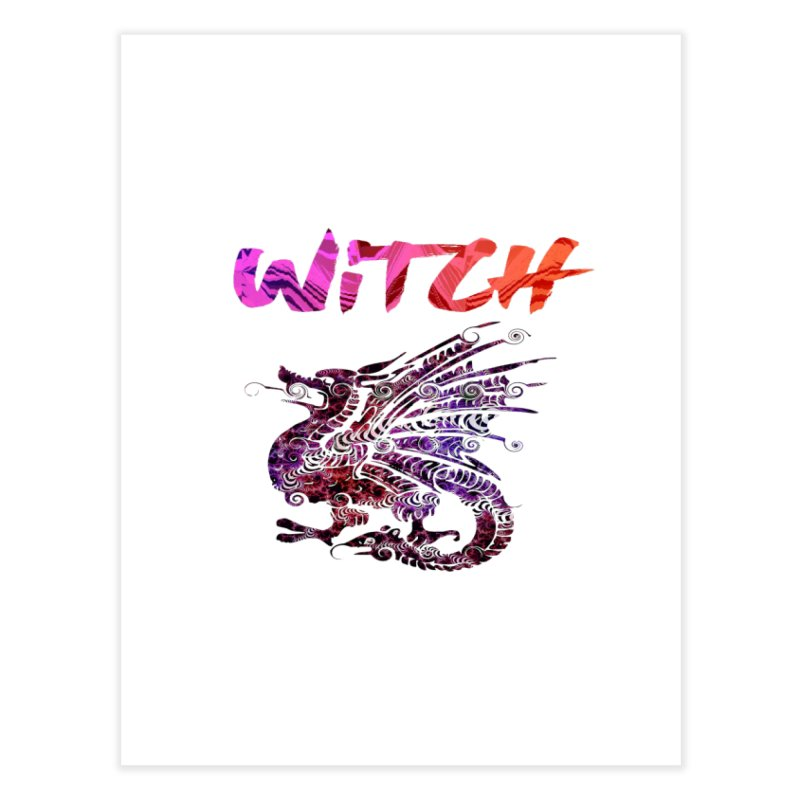 Witch Home Fine Art Print by forestmoonparanormal's Artist Shop