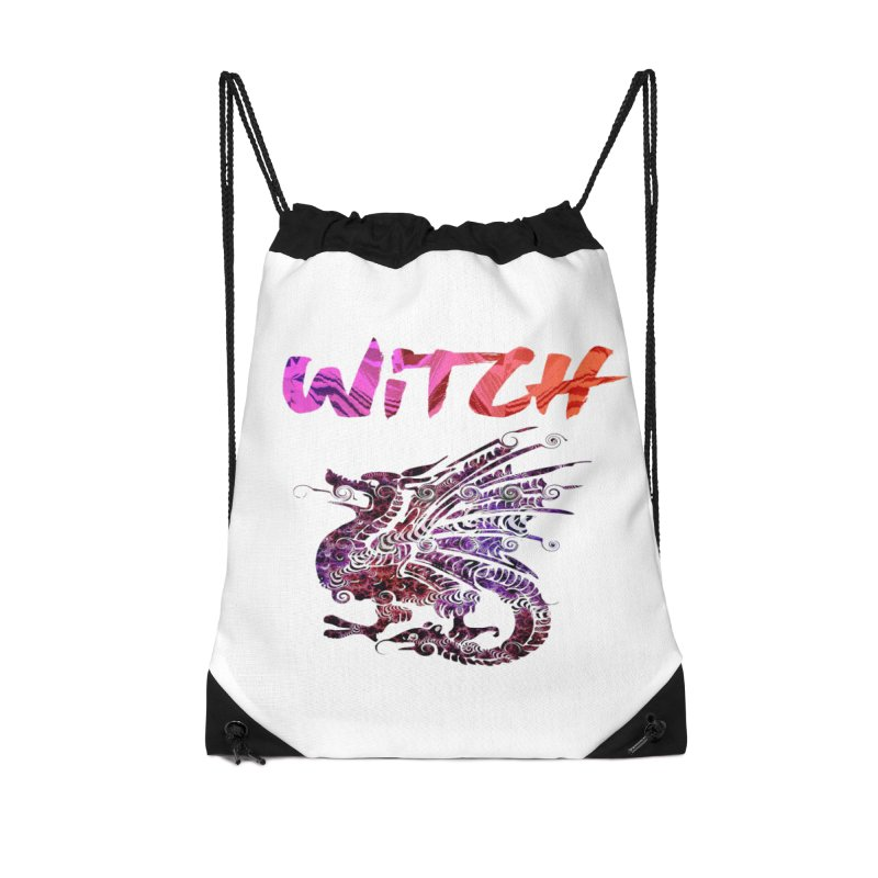 Witch Accessories Drawstring Bag Bag by forestmoonparanormal's Artist Shop