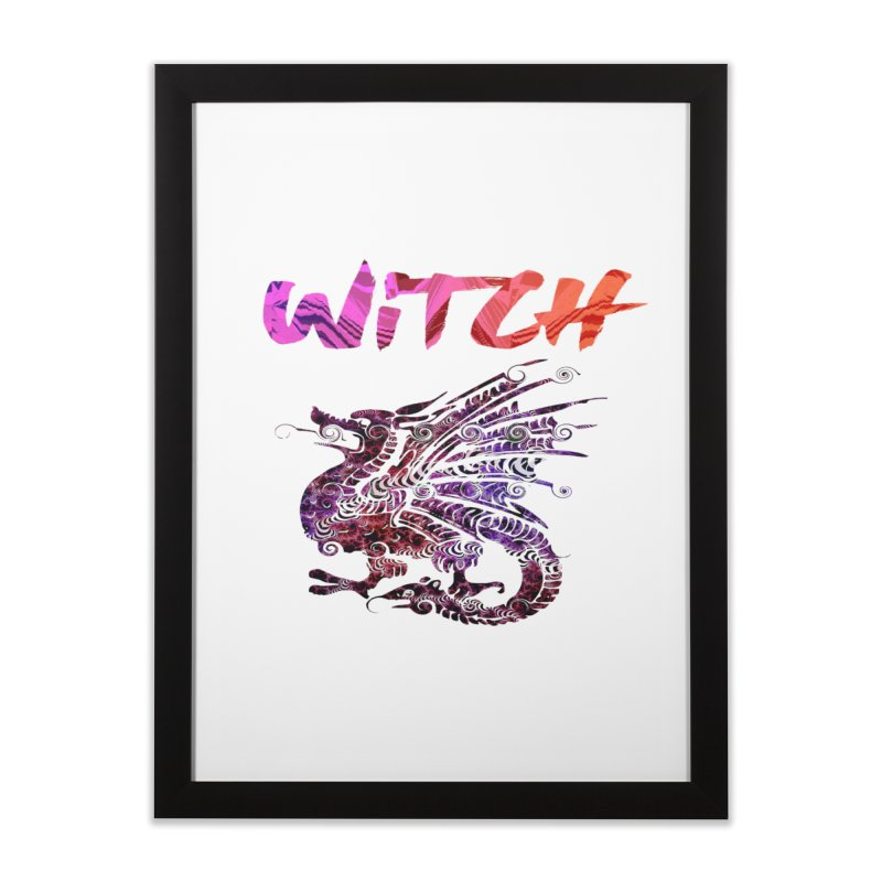 Witch Home Framed Fine Art Print by forestmoonparanormal's Artist Shop