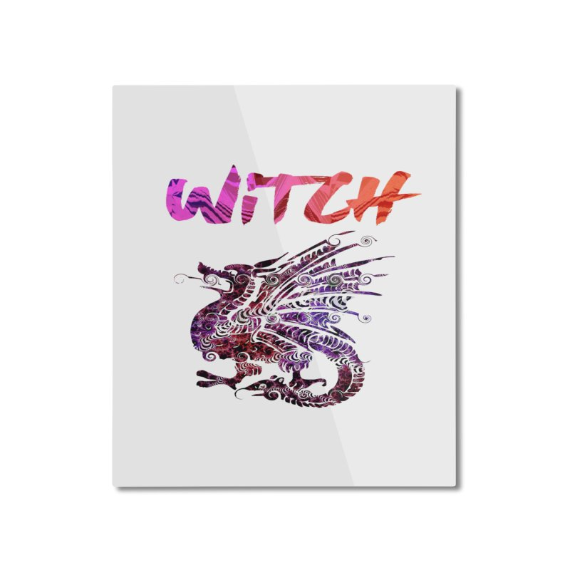 Witch Home Mounted Aluminum Print by forestmoonparanormal's Artist Shop
