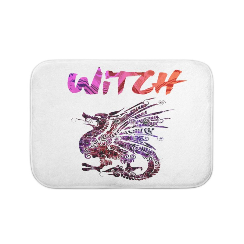 Witch Home Bath Mat by forestmoonparanormal's Artist Shop