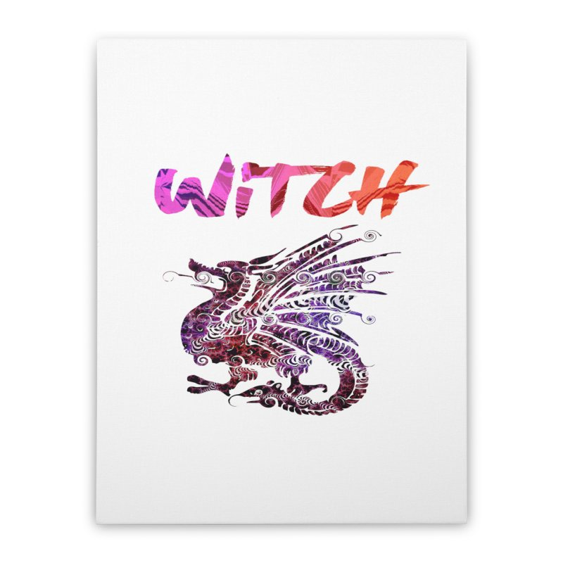 Witch Home Stretched Canvas by forestmoonparanormal's Artist Shop