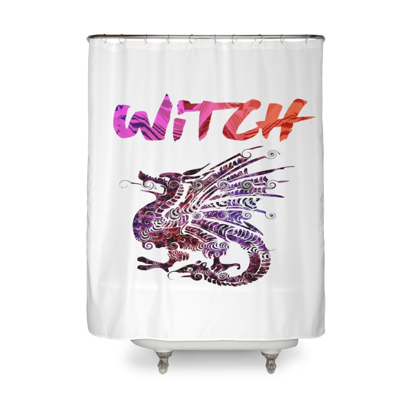 Witch Home Shower Curtain by forestmoonparanormal's Artist Shop