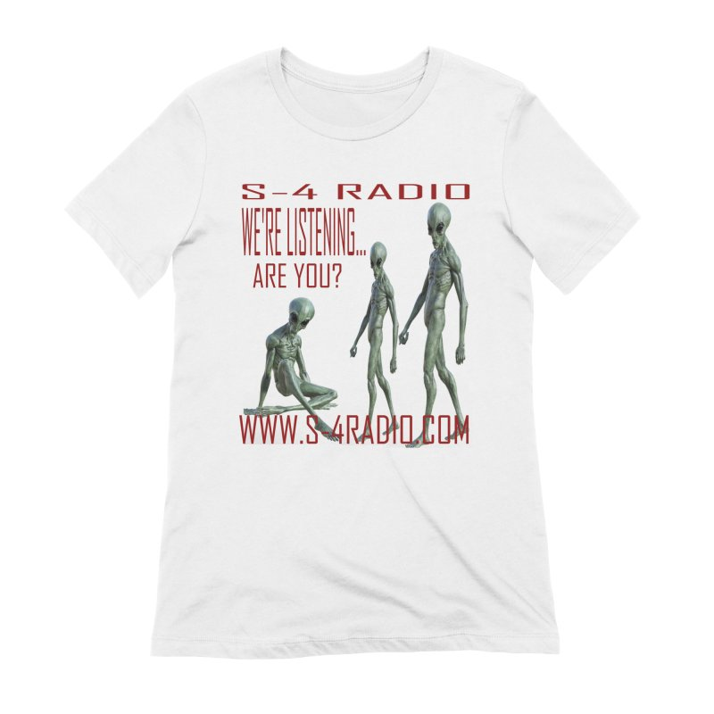 We're Listening... Women's T-Shirt by forestmoonparanormal's Artist Shop