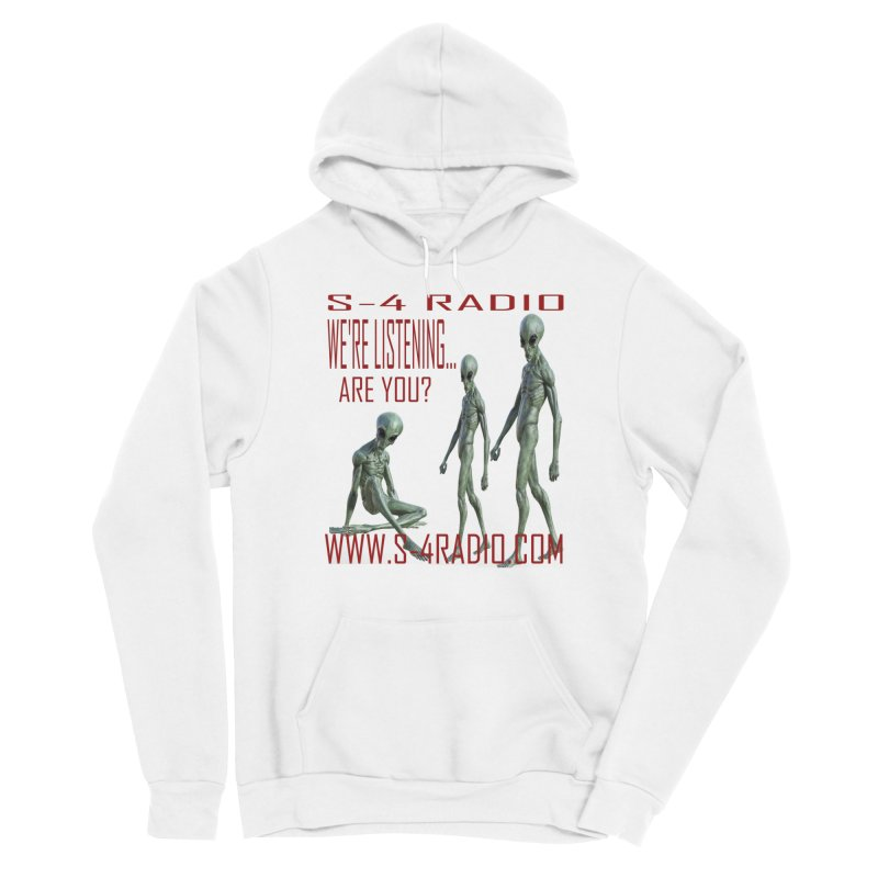 We're Listening... Women's Sponge Fleece Pullover Hoody by forestmoonparanormal's Artist Shop