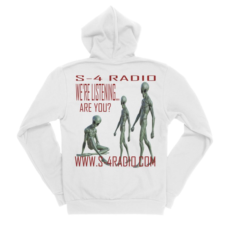 We're Listening... Women's Zip-Up Hoody by forestmoonparanormal's Artist Shop
