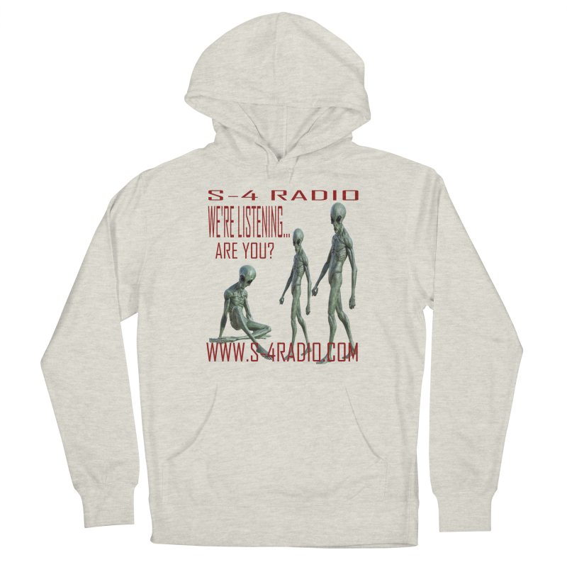 We're Listening... Women's Pullover Hoody by forestmoonparanormal's Artist Shop