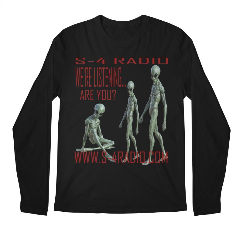 We're Listening... Men's Longsleeve T-Shirt by forestmoonparanormal's Artist Shop