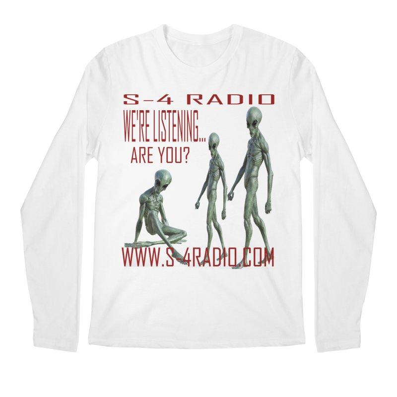 We're Listening... Men's Regular Longsleeve T-Shirt by forestmoonparanormal's Artist Shop