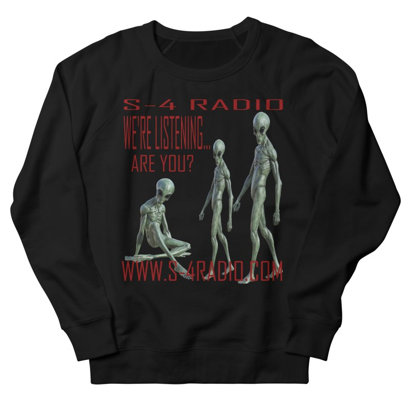 We're Listening... Men's French Terry Sweatshirt by forestmoonparanormal's Artist Shop