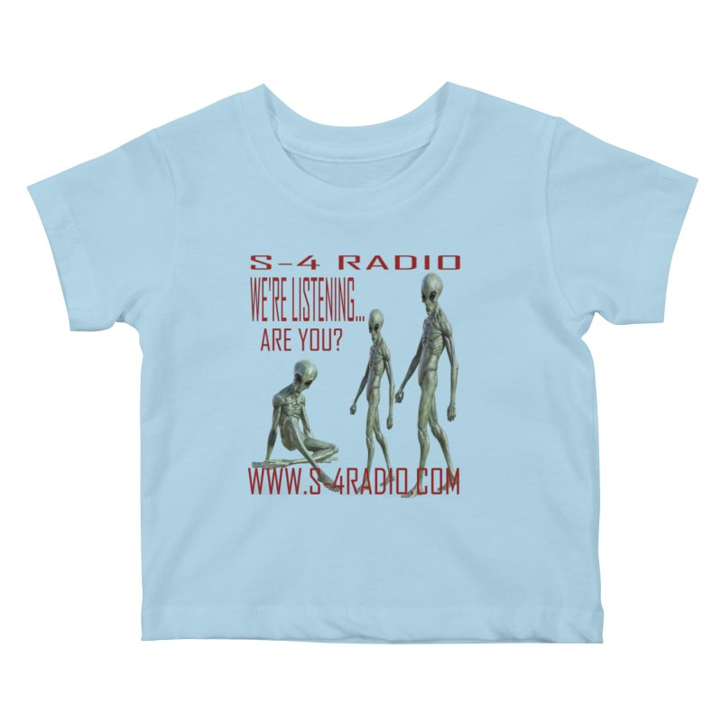 We're Listening... Kids Baby T-Shirt by forestmoonparanormal's Artist Shop