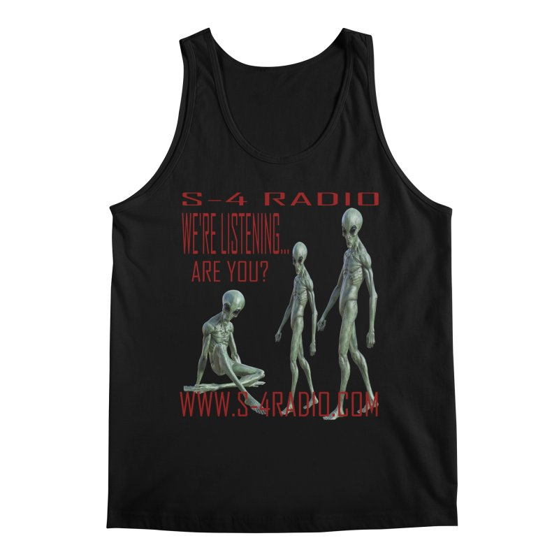 We're Listening... Men's Regular Tank by forestmoonparanormal's Artist Shop