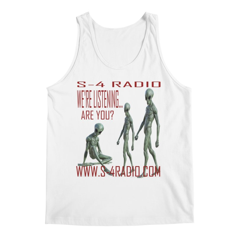 We're Listening... Men's Tank by forestmoonparanormal's Artist Shop