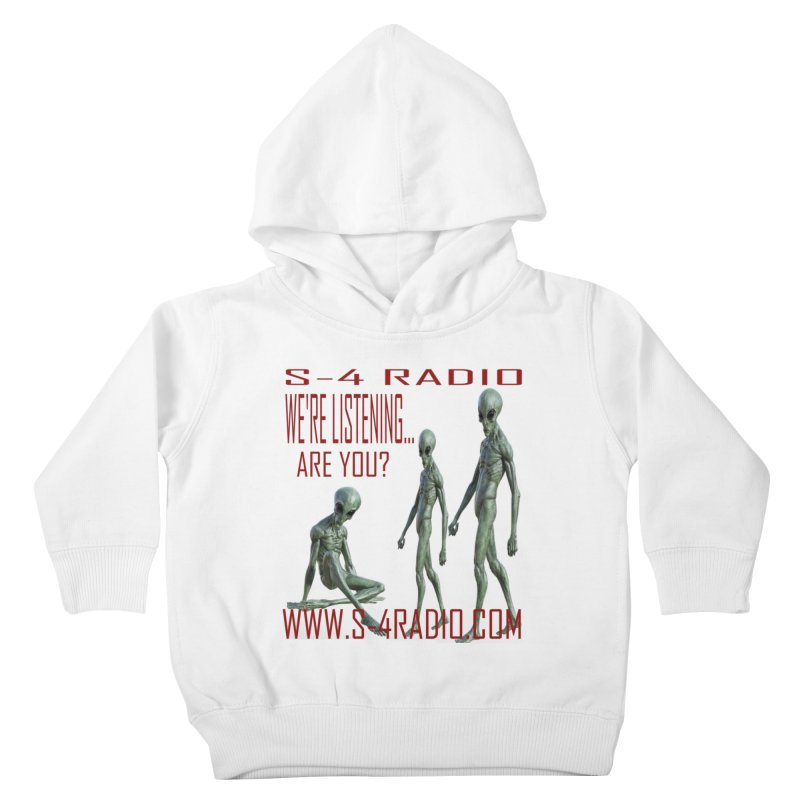 We're Listening... Kids Toddler Pullover Hoody by forestmoonparanormal's Artist Shop