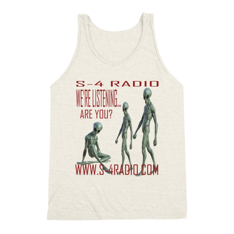 We're Listening... Men's Triblend Tank by forestmoonparanormal's Artist Shop