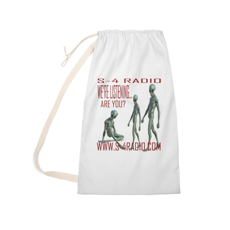 We're Listening... Accessories Laundry Bag Bag by forestmoonparanormal's Artist Shop