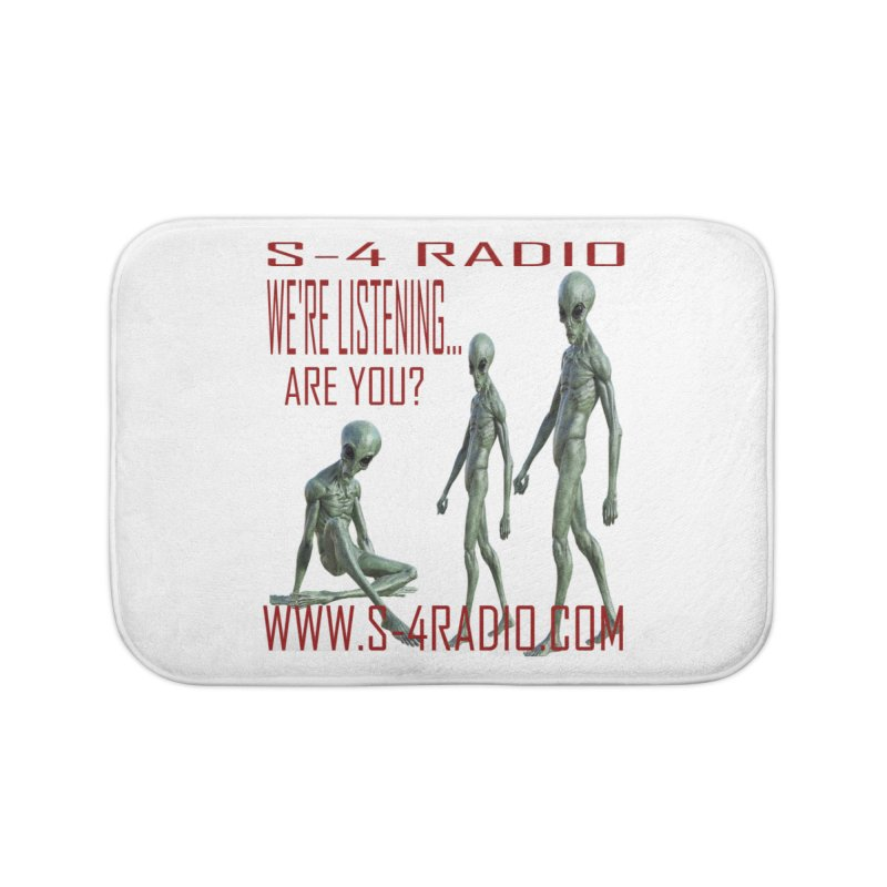 We're Listening... Home Bath Mat by forestmoonparanormal's Artist Shop