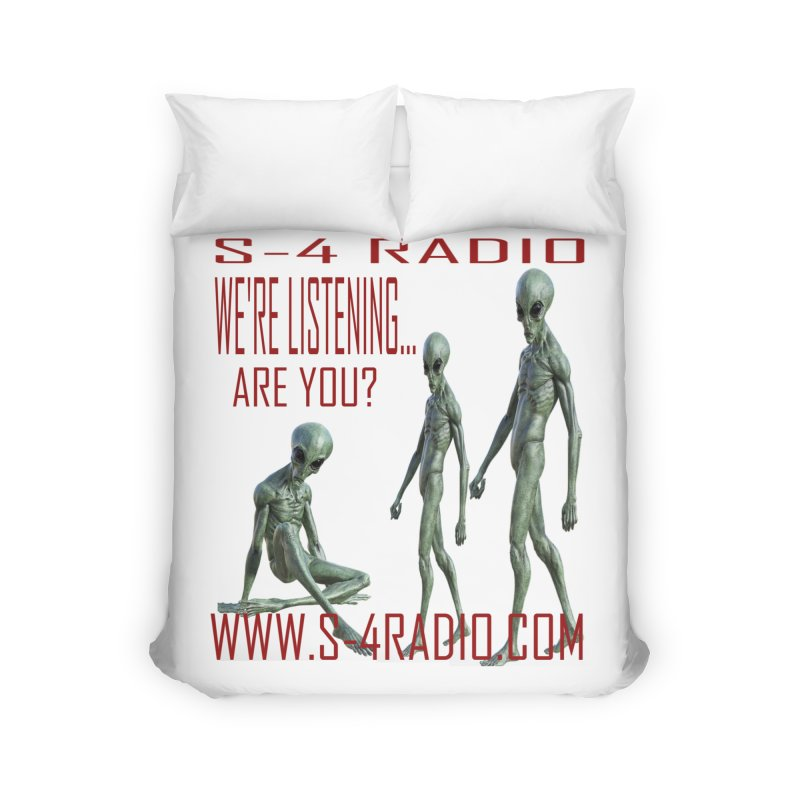 We're Listening... Home Duvet by forestmoonparanormal's Artist Shop