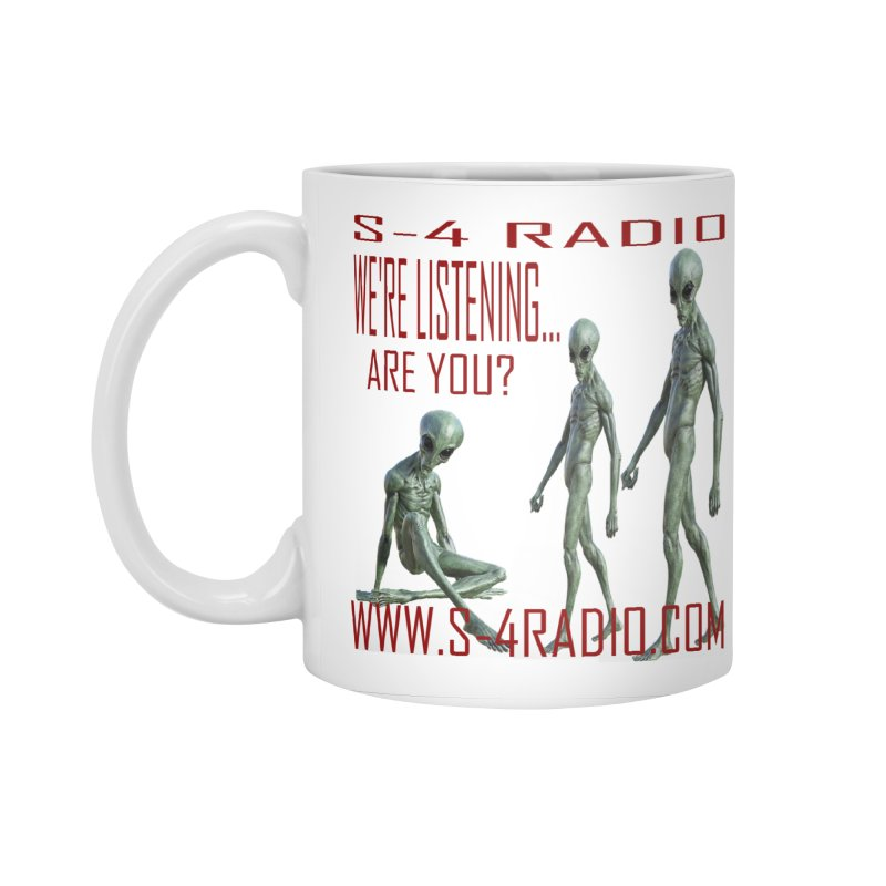 We're Listening... Accessories Standard Mug by forestmoonparanormal's Artist Shop