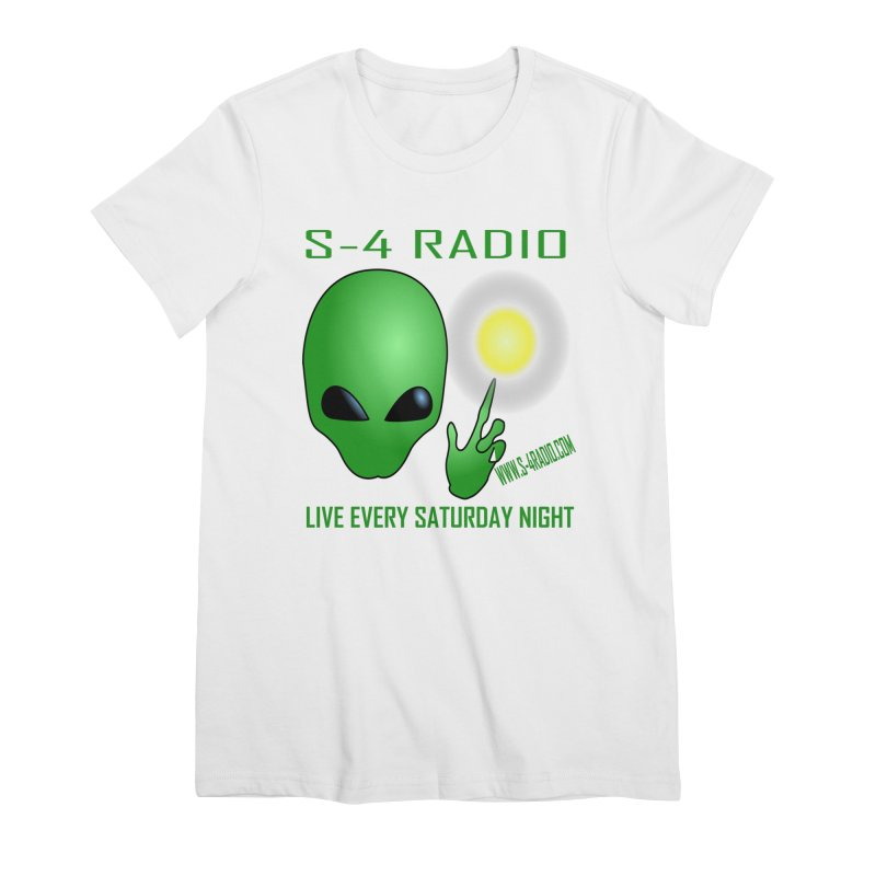 S-4 Radio Women's Premium T-Shirt by forestmoonparanormal's Artist Shop