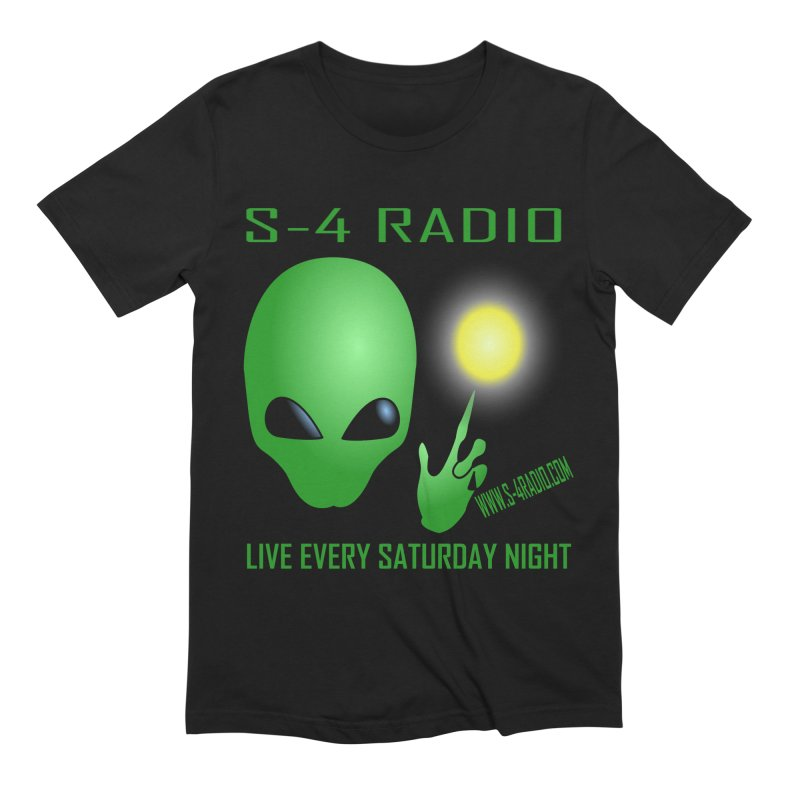 S-4 Radio Men's Extra Soft T-Shirt by forestmoonparanormal's Artist Shop