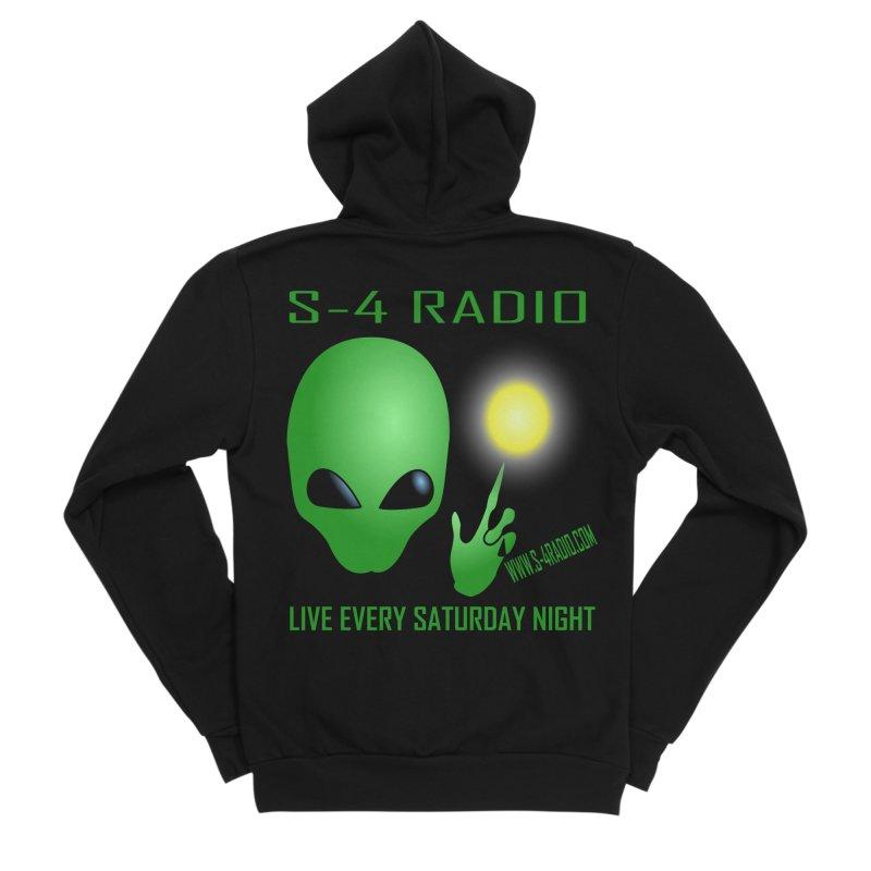 S-4 Radio Men's Sponge Fleece Zip-Up Hoody by forestmoonparanormal's Artist Shop