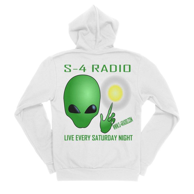 S-4 Radio Women's Sponge Fleece Zip-Up Hoody by forestmoonparanormal's Artist Shop