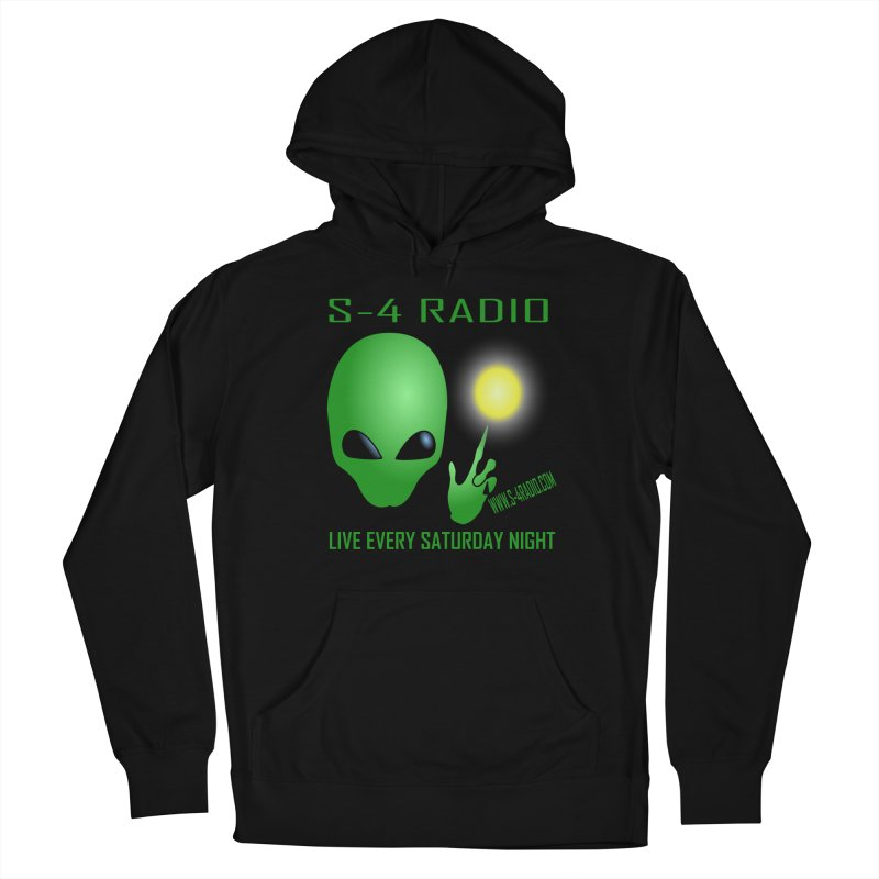 S-4 Radio Men's French Terry Pullover Hoody by forestmoonparanormal's Artist Shop