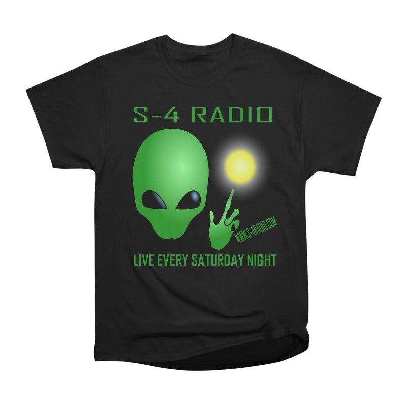 S-4 Radio Men's Heavyweight T-Shirt by forestmoonparanormal's Artist Shop