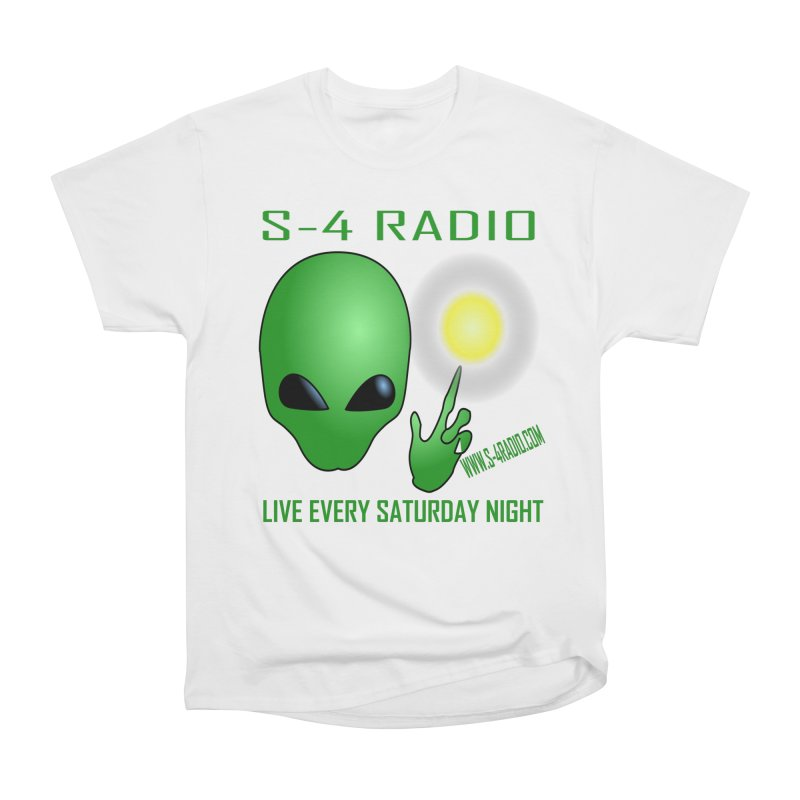 S-4 Radio Women's Heavyweight Unisex T-Shirt by forestmoonparanormal's Artist Shop
