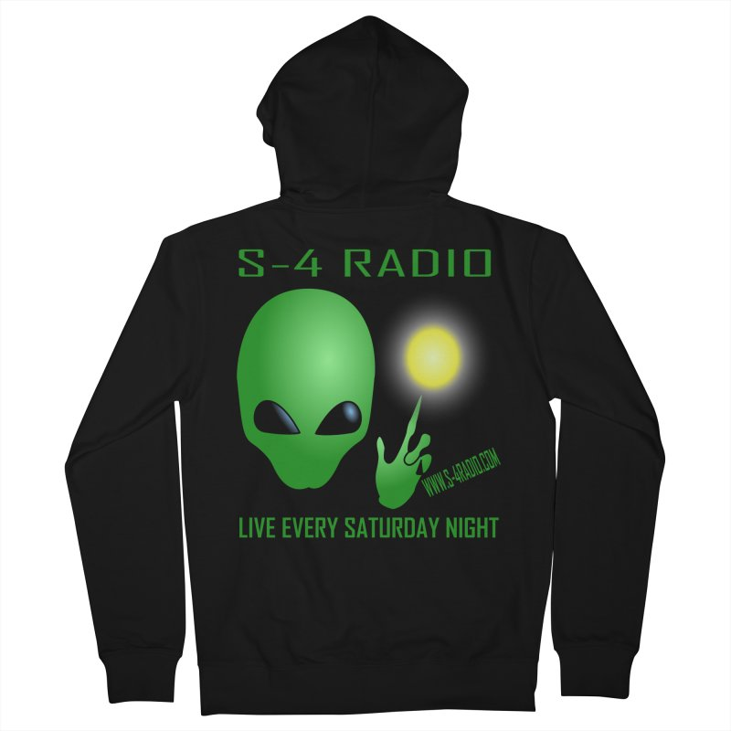 S-4 Radio Men's French Terry Zip-Up Hoody by forestmoonparanormal's Artist Shop