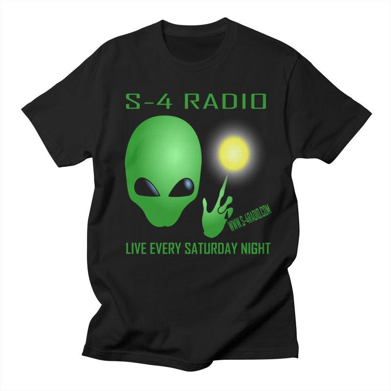 S-4 Radio Men's Regular T-Shirt by forestmoonparanormal's Artist Shop