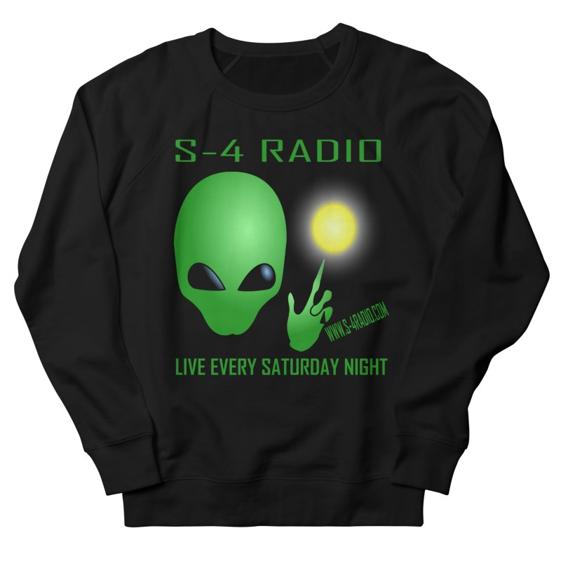 S-4 Radio Men's French Terry Sweatshirt by forestmoonparanormal's Artist Shop